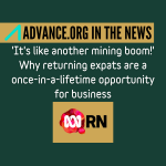 Advance in the News - ABC Radio National 22042021